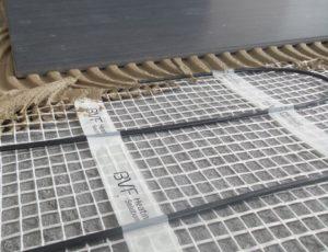 Namestitev talne grelne mreže pod keramiko