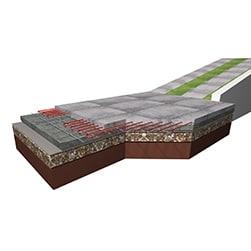 Namestitev v betonsko ploščo